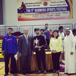 University of Bolton, Academic Centre RAK won the 1st Runner Up Position for Indoor Cricket held at The 9th RAK Medical & Health Sciences University – Connect Sports Festival